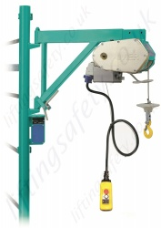 Imer ET150V Scaffold Hoist, 220v, 30m Working Height - 150kg Capacity