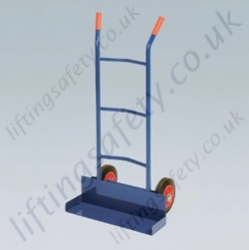 LiftingSafety Chair Carrying Sack Truck - 200kg - 198 x 565mm Shoe - 1100mm Height