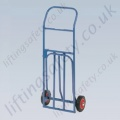 LiftingSafety Compact Folding Sack Truck - 100kg - 410 x 320mm Shoe - 1065mm Height