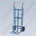 LiftingSafety Heavy Duty Sack Truck - 255kg - 305 x 365mm Shoe - 1220mm Height