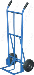 LiftingSafety Basic Light Weight Sack Truck, 120kg Capacity, Open Shoe 160 x 370mm