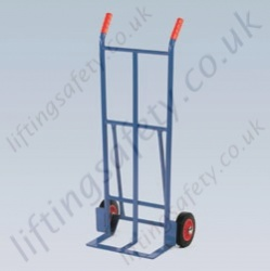 LiftingSafety Basic 120kg Light Weight Sack Truck - 120kg - 160 x 370mm Shoe - 1065mm Height