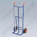 LiftingSafety 120kg Sack Truck - 160mm Rubber Wheels - 120kg - 160 x 370mm Shoe - 1065mm Height
