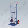 LiftingSafety Mesh Back Plate Shoe Sack Truck - 200kg - 200 x 365mm Shoe - 1100mm Height