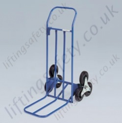 LiftingSafety Star Wheel Sack Truck - 100kg - 470 x 320mm Shoe - 1065mm Height