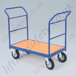 LiftingSafety Double Tubular Ended Trolley - 350kg Available in Two Sizes