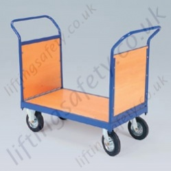 LiftingSafety Double Plywood Ended Trolley - 350kg Available in Two Sizes