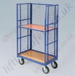 LiftingSafety High Sided Mesh Platform Truck Available in Two Sizes
