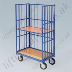 LiftingSafety High Sided Platform Truck - 350kg Available in Two Sizes