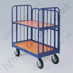 LiftingSafety Low Rod Sided Platform Truck - 350kg Available in Two Sizes