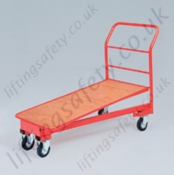 LiftingSafety Nesting Trolley - 400kg - 1180 x 600mm Shelf