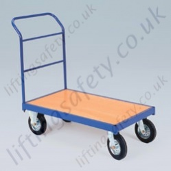 LiftingSafety Single Small and Large Ended Tubular Trolley - 350kg Available in Two Sizes