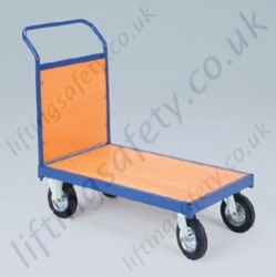 LiftingSafety Single Small and Large Ended Plywood Trolley - 350kg Available in Two Sizes