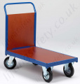 LiftingSafety Single Ended Plywood Trolley, 500kg Capacity, Various Size Options Available