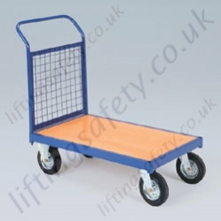 LiftingSafety Single Ended Mesh and Plywood Trolley - 350kg Available in Two Sizes