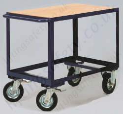 LiftingSafety Heavy Duty Table Trolley, 500kg Capacity, Various Size Options Available