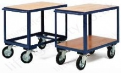 LiftingSafety Single and Twin Long Shelf Heavy Duty Table Trolley - 350kg Available in Two Sizes