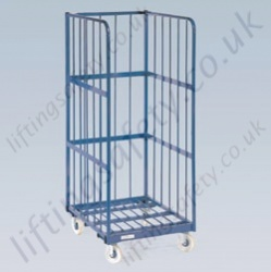 LiftingSafety High Load Cage Trolley - 500kg - 800 x 650 x 1500mm