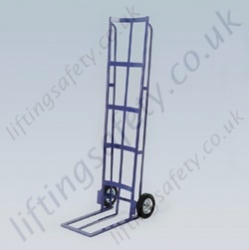 LiftingSafety High Tyre Trolley Designed to Carry Tyres Safely - Fork Length 458mm - 1675 x 510mm