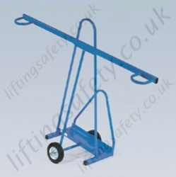 LiftingSafety Large Panel Trolley - 100kg - 610 x 220mm