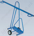 LiftingSafety 2 Wheeled Upright Board Trolley, 300kg Capacity