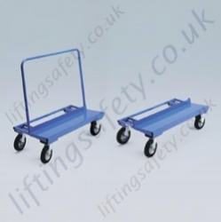 LiftingSafety Large Panel Trolley - 350kg - 1100 x 600 x 1150mm - 300mm Board Load Width