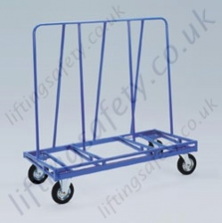 LiftingSafety Tall Large Panel Trolley - 350kg - 1500 x 700 x 1500mm - 350mm Board Load Width