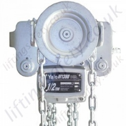 "Yale ""Yalelift 360 ITG SR"" ATEX Hand Chain Hoist with Monorail Geared Travel Trolley - Range from 500kg to 10,000kg"