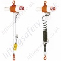 Kito ED Series Lightweight Electric Hoist, Fast Lifting Speeds, Single Phase, Range from 60kg to 480kg