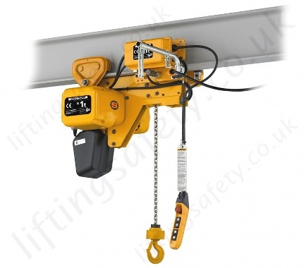 Kito Sher2 Low Headroom Hoist Range From 250kg To 5000kg