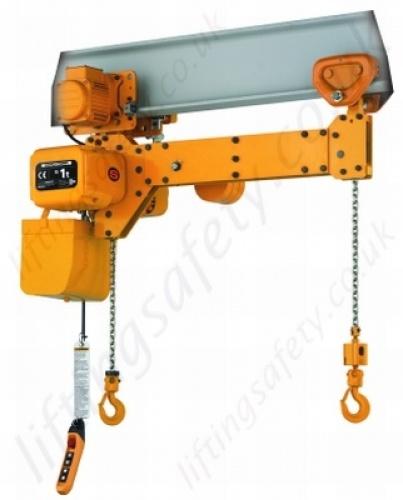 Electric Chain Hoist With Hook: Kito TWER2 Twin Hook Hoist Or Motorised Trolley- Range