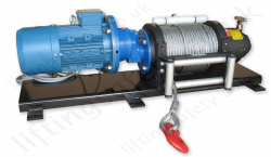 AC Electric Pulling Winch with Freespool, 415v, 3000kg or 4000kg Line Pull