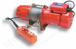 LiftingSafety Bi-Rotational Electric Winch - 300kg