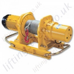 LiftingSafety 1ph 240v  Electric Planetary Lifting Winch - 300kg or 500kg