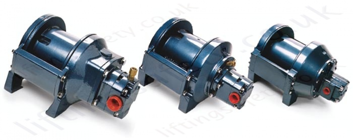 Marine Lifting Winch X3 Examples