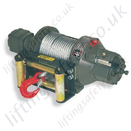 Ramsey Quot Rph Quot Hydraulic Planetary Wire Rope Recovery Winch