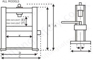 12_20_tonne_hydraulic_workshop_press hydraulic bench press, manual hydraulic operation 12,000kg and hydraulic press wiring diagram at soozxer.org