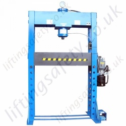 """Tall"" - Heavy Duty Hydraulic Press With Electric Hydraulic Pump - Range from 40,000kg to 100,000kg"
