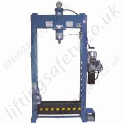 """Standard Height"" - Heavy Duty Hydraulic Press, Electric Hydraulic Pump - 20,000kg to 100,000kg"