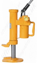 Rotating Hydraulic Toe Jacks - Range from 5000kg to 25,000kg