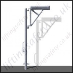 Portable Light Weight, Vertical Pole Style Davit Arm With Many Options Built To Customers Specification - Range to 1000kg