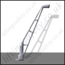 Portable Light Weight Leanover Style Davit Arm With many Options. Built to Customers Specification - Range to 1000kg