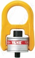 Yoke Swivel Hoist Ring, Swivel Eye Bolt with Washer (Not Bearings) Metric Thread - Range from 500kg to 30000kg
