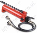 LiftingSafety 700 Bar. 1 or 2 Stage Options. Hydraulic Hand Pumps - Reservoir Range from 350cc to 500cc (13 Options)