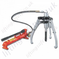 Hydraulic Pullers with Remote Pump - Range from 4000kg to 30,000kg