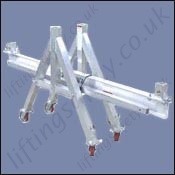 a frame adjustable gantry cart