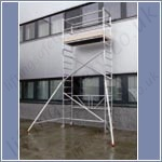 folding scaffold external use