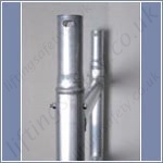 folding scaffold tower collar-tubes