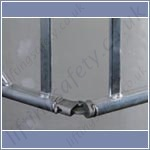 folding scaffold tower hinge