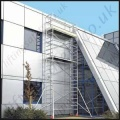 High Quality Aluminium Scaffold Tower - Max Platform Height 12.2m with Single and Double Widths